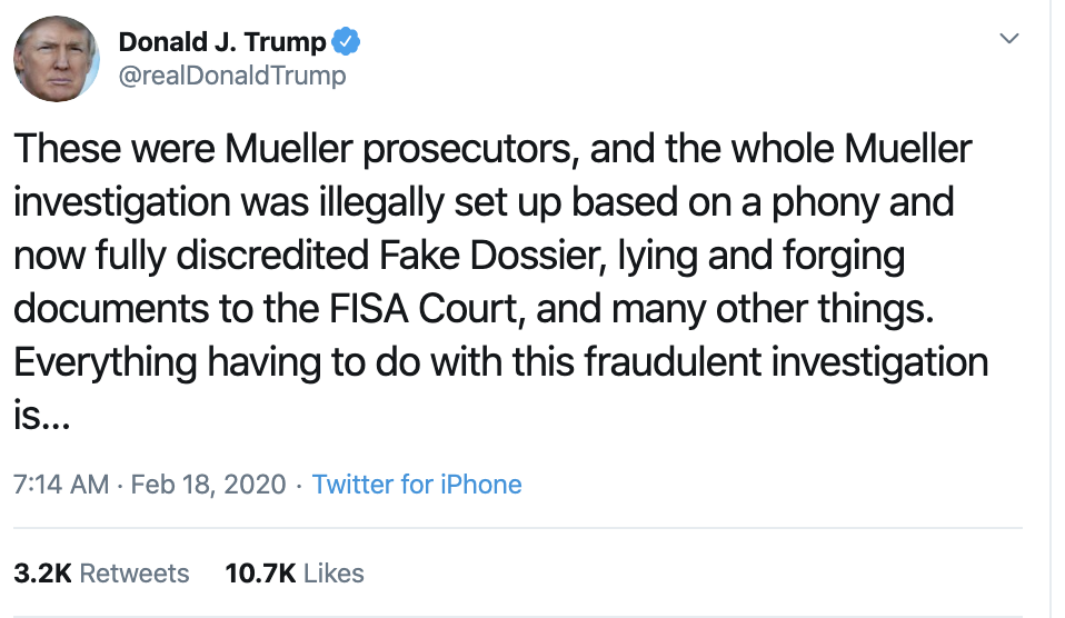 Screen-Shot-2020-02-18-at-7.39.22-AM Trump Threatens To Sue In SAD Tuesday AM Cry-Fest Corruption Election 2020 Featured Politics Top Stories