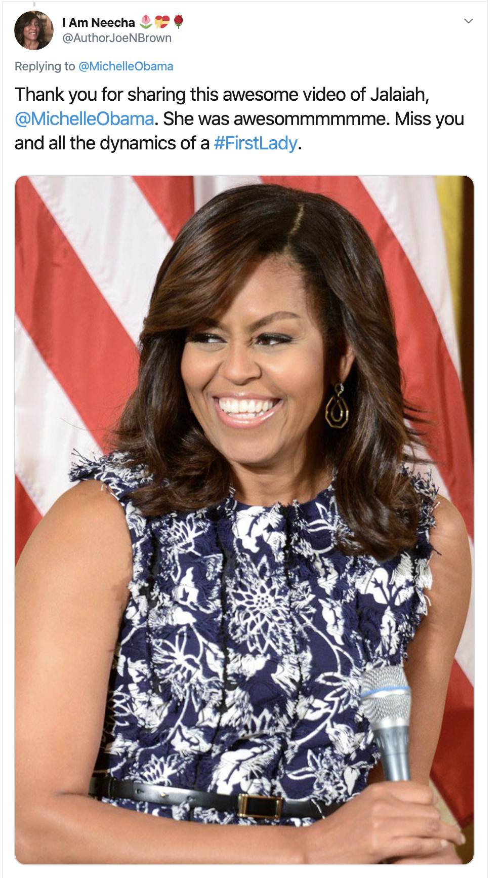 Screen-Shot-2020-02-19-at-3.04.17-PM Michelle Obama Tweets Inspirational Message To America Civil Rights Featured Feminism Racism Top Stories