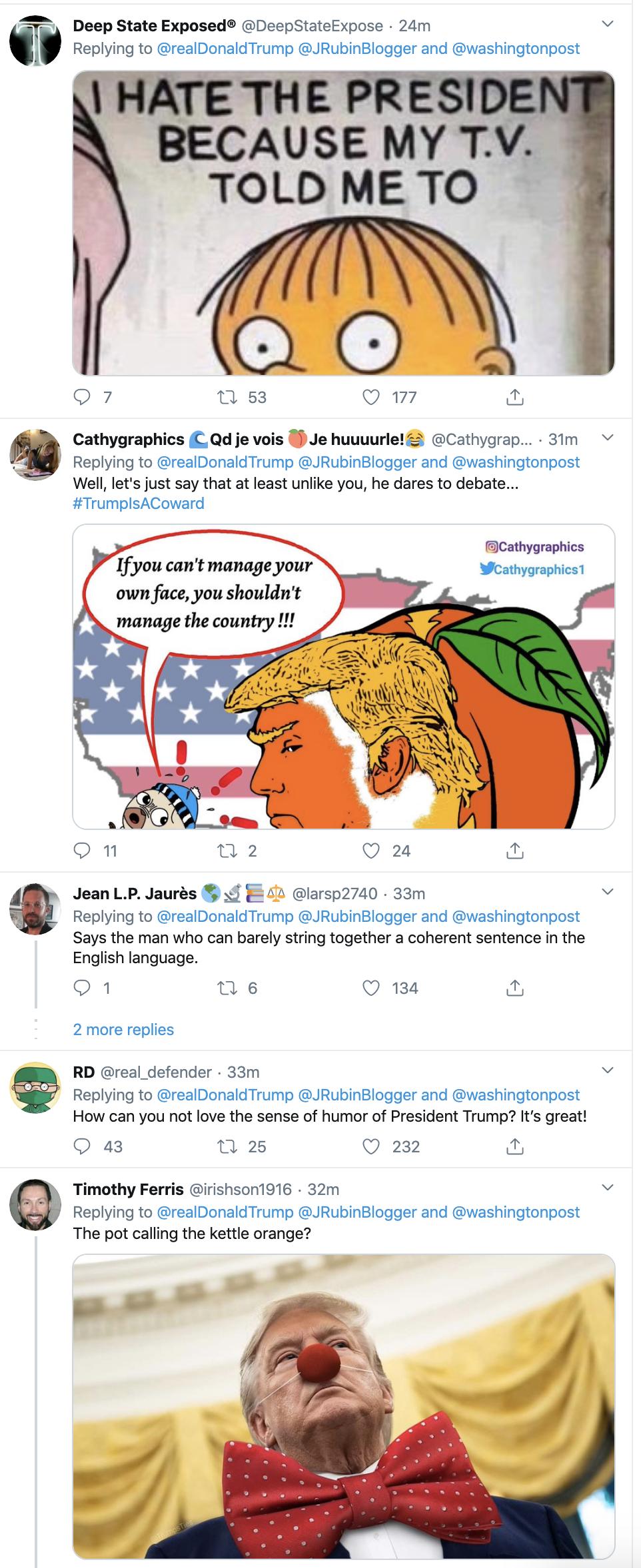 Screen-Shot-2020-02-20-at-7.13.08-AM WaPo Columnist Jennifer Rubin's Typo Attacked By Mr. Misspeller Himself, Trump Corruption Donald Trump Featured Politics Top Stories