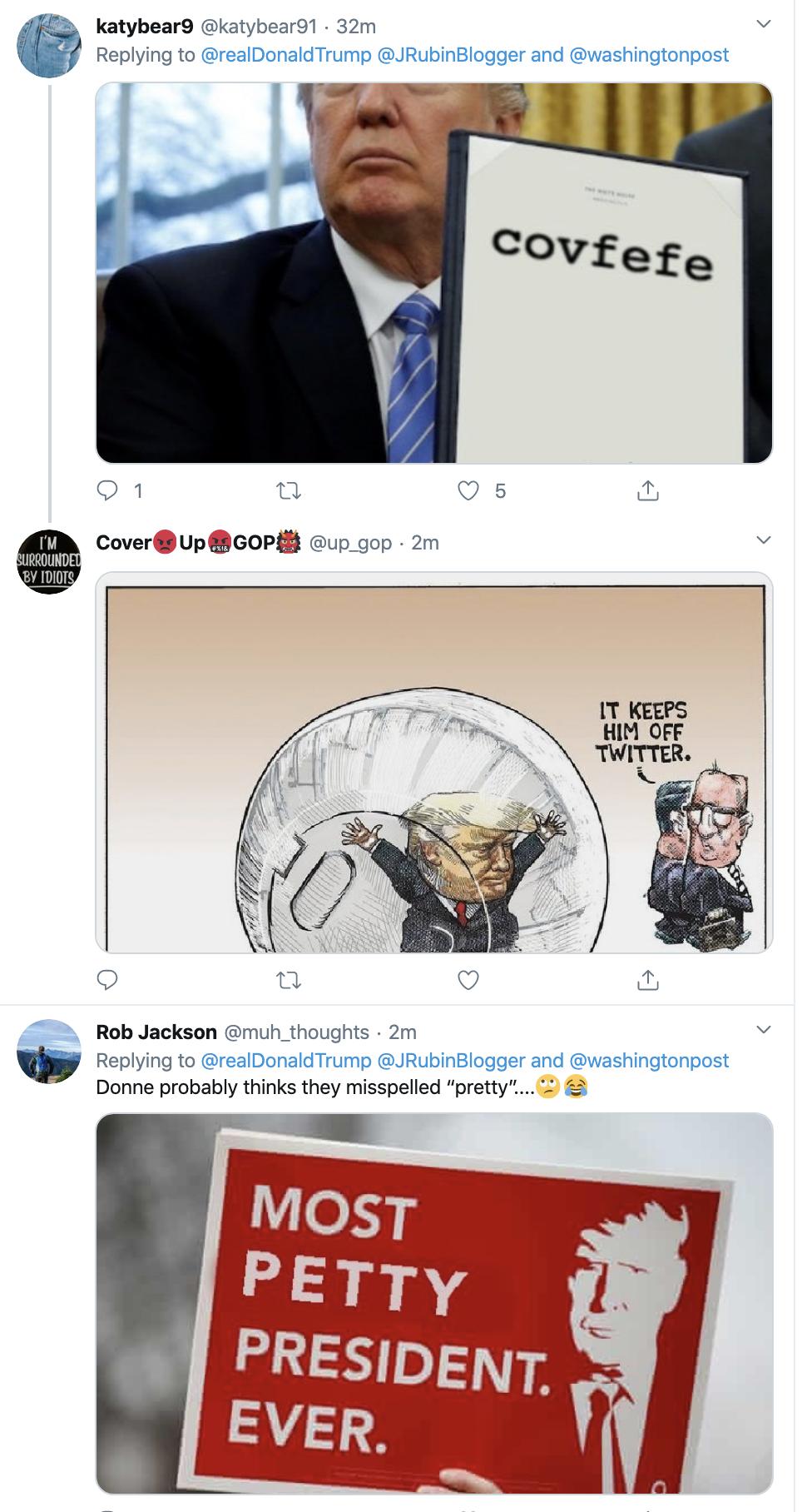 Screen-Shot-2020-02-20-at-7.14.58-AM WaPo Columnist Jennifer Rubin's Typo Attacked By Mr. Misspeller Himself, Trump Corruption Donald Trump Featured Politics Top Stories
