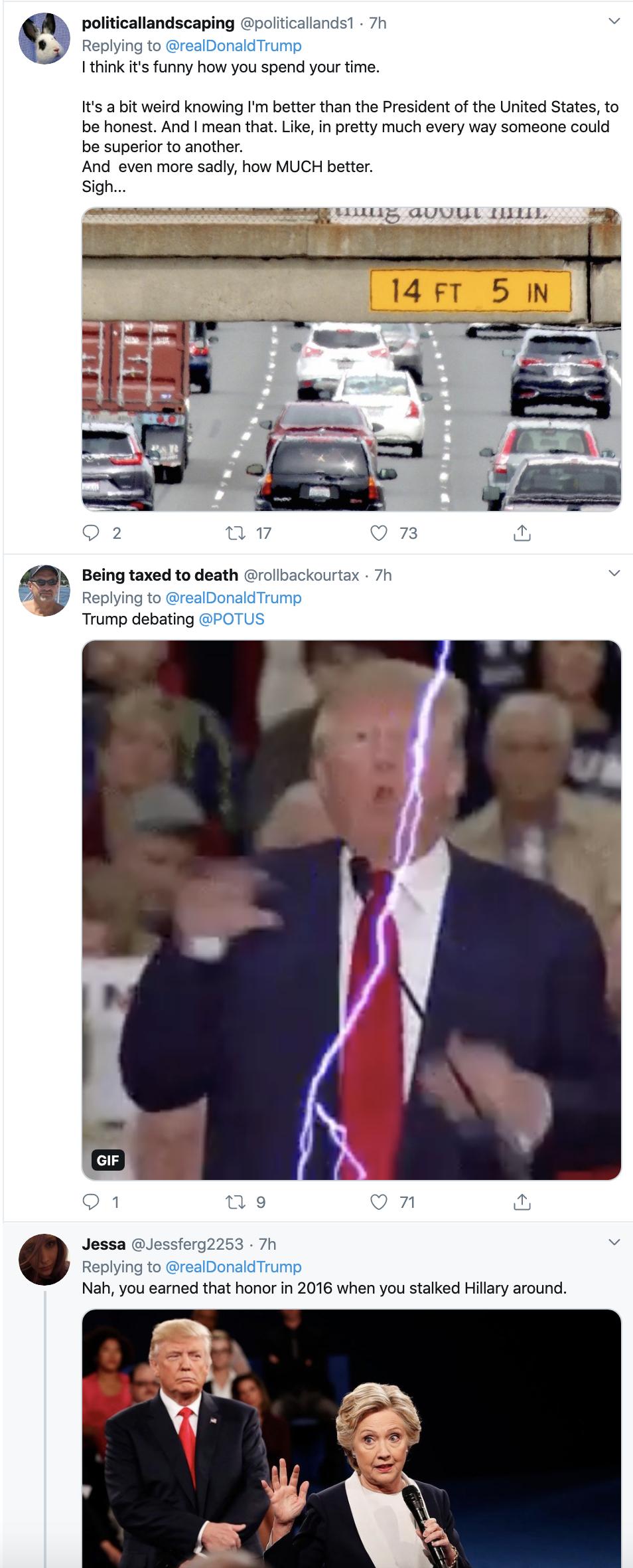 Screen-Shot-2020-02-20-at-8.21.15-AM Trump Tweets Fake Bloomberg Video During Multi-Tweet AM Meltdown Donald Trump Election 2020 Featured Politics Top Stories