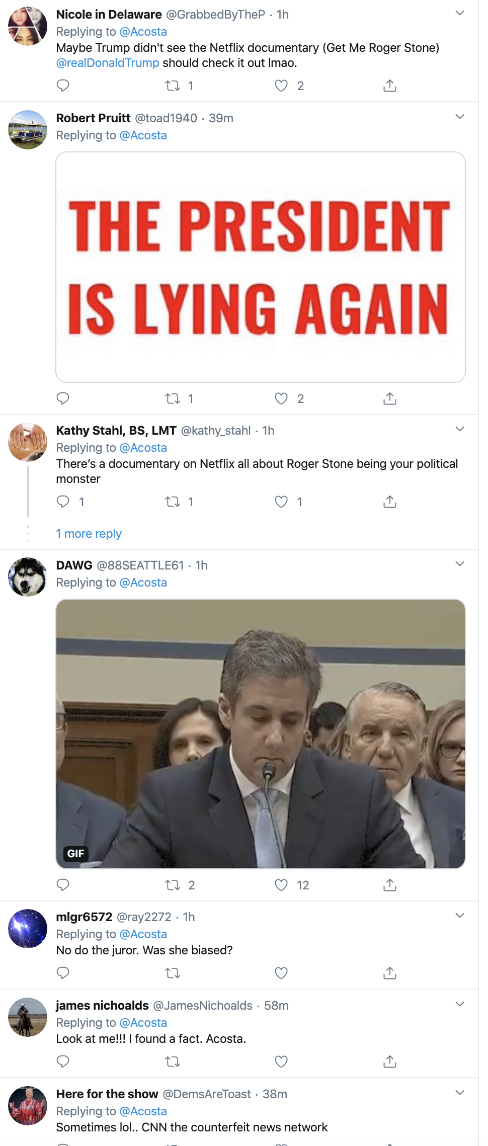 Screen-Shot-2020-02-25-at-3.19.24-PM Jim Acosta Busts Trump In A Major Lie On Twitter Corruption Crime Featured Politics Top Stories