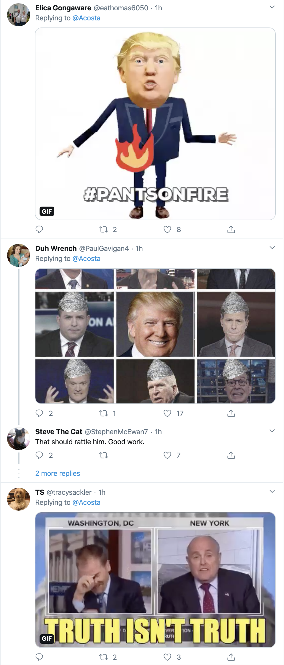 Screen-Shot-2020-02-25-at-3.19.41-PM Jim Acosta Busts Trump In A Major Lie On Twitter Corruption Crime Featured Politics Top Stories