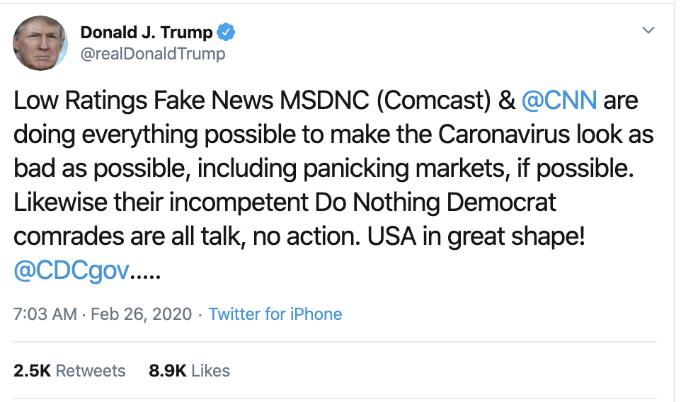 Screen-Shot-2020-02-26-at-7.19.22-AM Trump Goes On The Attack During Mid-Week Freakout Donald Trump Featured Media Politics Top Stories