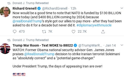 Screenshot-2020-02-08-at-10.00.19-AM Trump Comes Unglued In Saturday Twitter Freakout Corruption Donald Trump Politics Social Media Top Stories