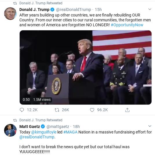 Screenshot-2020-02-08-at-10.00.41-AM Trump Comes Unglued In Saturday Twitter Freakout Corruption Donald Trump Politics Social Media Top Stories