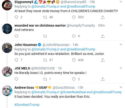 Screenshot-2020-02-08-at-11.09.13-AM Junior Throws Embarrassing Petty-Party Over Vindman Firing Donald Trump Politics Social Media Top Stories