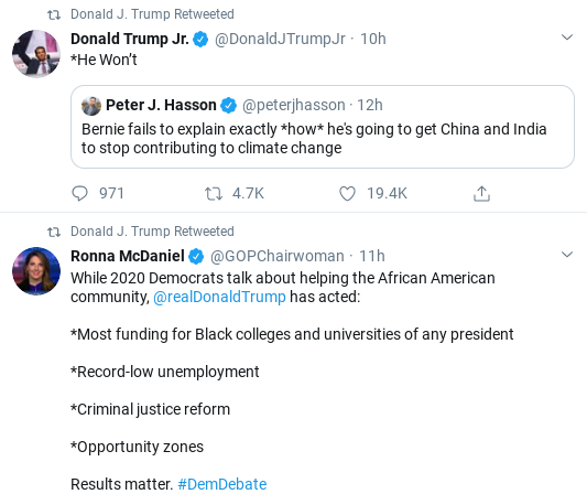 Screenshot-2020-02-08-at-9.59.31-AM Trump Comes Unglued In Saturday Twitter Freakout Corruption Donald Trump Politics Social Media Top Stories