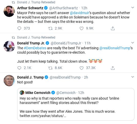 Screenshot-2020-02-08-at-9.59.55-AM Trump Comes Unglued In Saturday Twitter Freakout Corruption Donald Trump Politics Social Media Top Stories