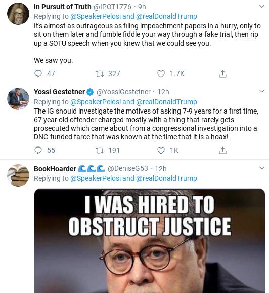 Screenshot-2020-02-12-at-10.02.09-AM Pelosi Destroys Trump Over DOJ Bill Barr Corruption Corruption Donald Trump Politics Social Media Top Stories