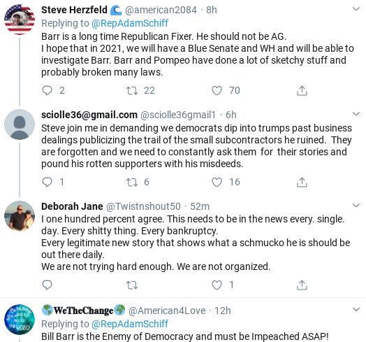 Screenshot-2020-02-12-at-9.46.58-AM Schiff Rattles Bill Barr Over Corrupt DOJ With Public Fact Check Corruption Donald Trump Politics Social Media Top Stories