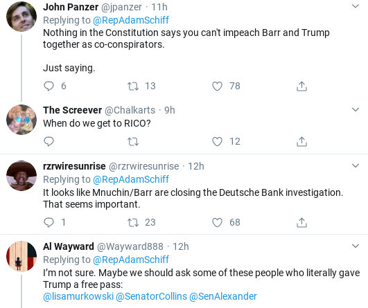 Screenshot-2020-02-12-at-9.47.11-AM Schiff Rattles Bill Barr Over Corrupt DOJ With Public Fact Check Corruption Donald Trump Politics Social Media Top Stories