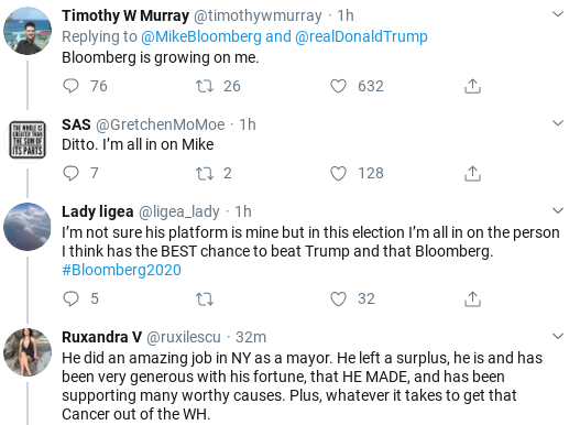 Screenshot-2020-02-13-at-10.09.16-AM Bloomberg Perfectly Dings Trump After Latest Twitter Attack Corruption Donald Trump Election 2020 Politics Social Media Top Stories
