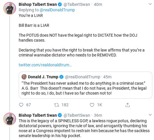 Screenshot-2020-02-14-at-9.19.59-AM Trump Tweets Ridiculous Power Claim After Barr Interview Donald Trump Politics Social Media Top Stories