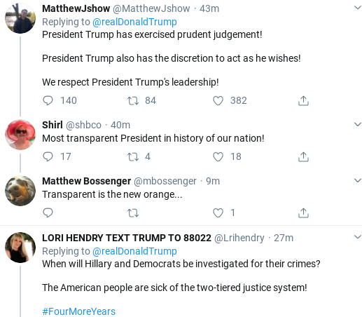 Screenshot-2020-02-14-at-9.20.40-AM Trump Tweets Ridiculous Power Claim After Barr Interview Donald Trump Politics Social Media Top Stories
