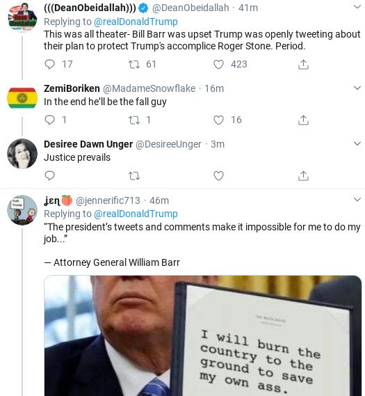 Screenshot-2020-02-14-at-9.21.13-AM Trump Tweets Ridiculous Power Claim After Barr Interview Donald Trump Politics Social Media Top Stories