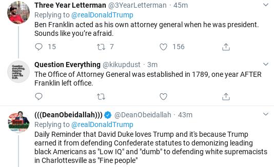 Screenshot-2020-02-14-at-9.21.46-AM Trump Tweets Ridiculous Power Claim After Barr Interview Donald Trump Politics Social Media Top Stories