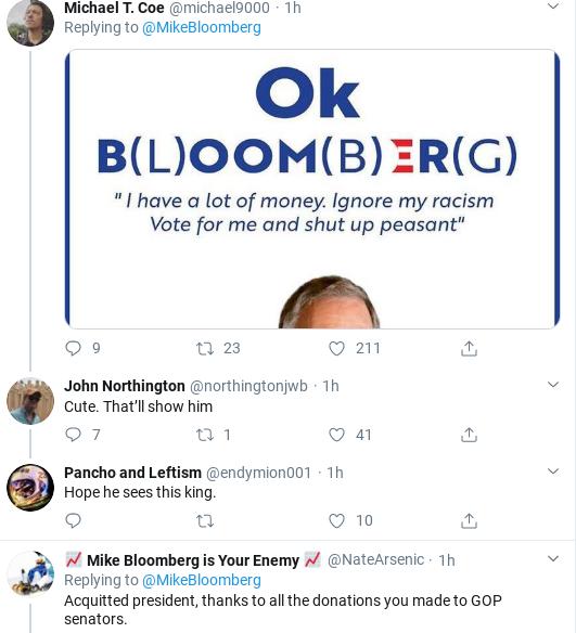 Screenshot-2020-02-19-at-11.37.07-AM Bloomberg Humiliates Trump In Response To AM Tweet Attack Donald Trump Election 2020 Politics Social Media Top Stories
