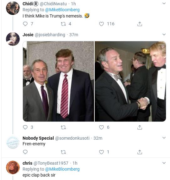 Screenshot-2020-02-19-at-11.37.53-AM Bloomberg Humiliates Trump In Response To AM Tweet Attack Donald Trump Election 2020 Politics Social Media Top Stories