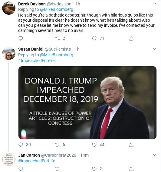Screenshot-2020-02-19-at-11.38.03-AM Bloomberg Humiliates Trump In Response To AM Tweet Attack Donald Trump Election 2020 Politics Social Media Top Stories