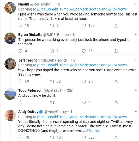 Screenshot-2020-02-19-at-2.14.28-PM Trump Humiliated After Blagojevich Defense Tweet Goes Wrong Corruption Donald Trump Politics Social Media Top Stories