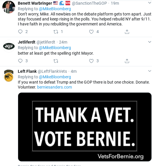 Screenshot-2020-02-20-at-10.47.44-AM Bloomberg Rebukes Trump's Debate Taunt With Viral Twitter Trolling Donald Trump Election 2020 Politics Social Media Top Stories