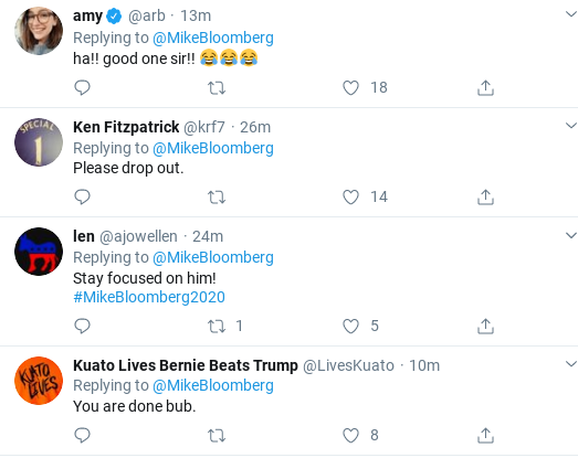 Screenshot-2020-02-20-at-10.47.57-AM Bloomberg Rebukes Trump's Debate Taunt With Viral Twitter Trolling Donald Trump Election 2020 Politics Social Media Top Stories