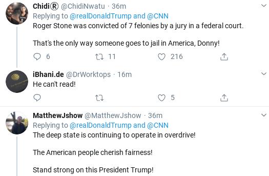 Screenshot-2020-02-20-at-11.07.34-AM Triggered Trump Erupts In Conspiracy During Roger Stone Sentencing Donald Trump Election 2020 Politics Social Media Top Stories