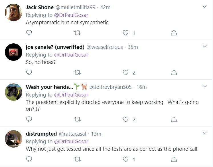 Gosar2 Racist Senator Announces He Was Exposed To Coronavirus Featured Top Stories Twitter