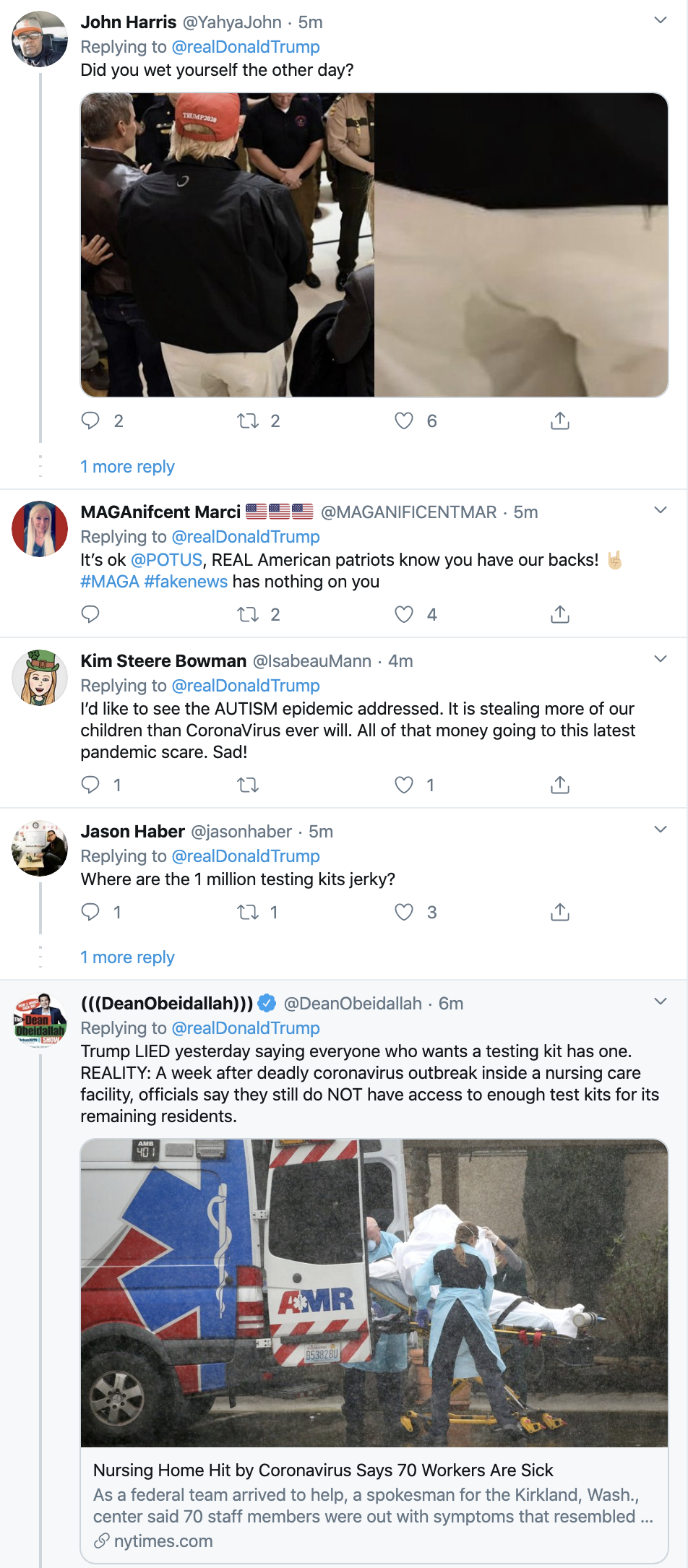 Screen-Shot-2020-03-08-at-7.52.55-AM Trump Says Media Lying About Coronavirus On Twitter Featured Healthcare National Security Politics Top Stories