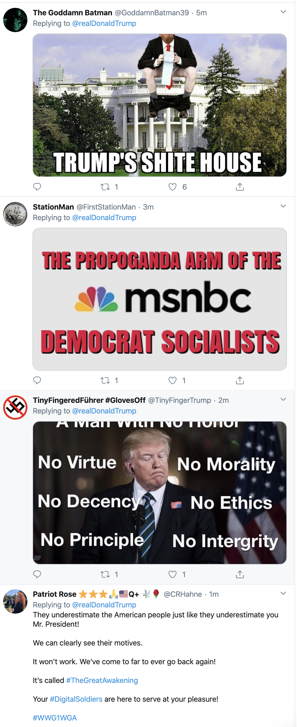 Screen-Shot-2020-03-08-at-7.53.16-AM Trump Says Media Lying About Coronavirus On Twitter Featured Healthcare National Security Politics Top Stories