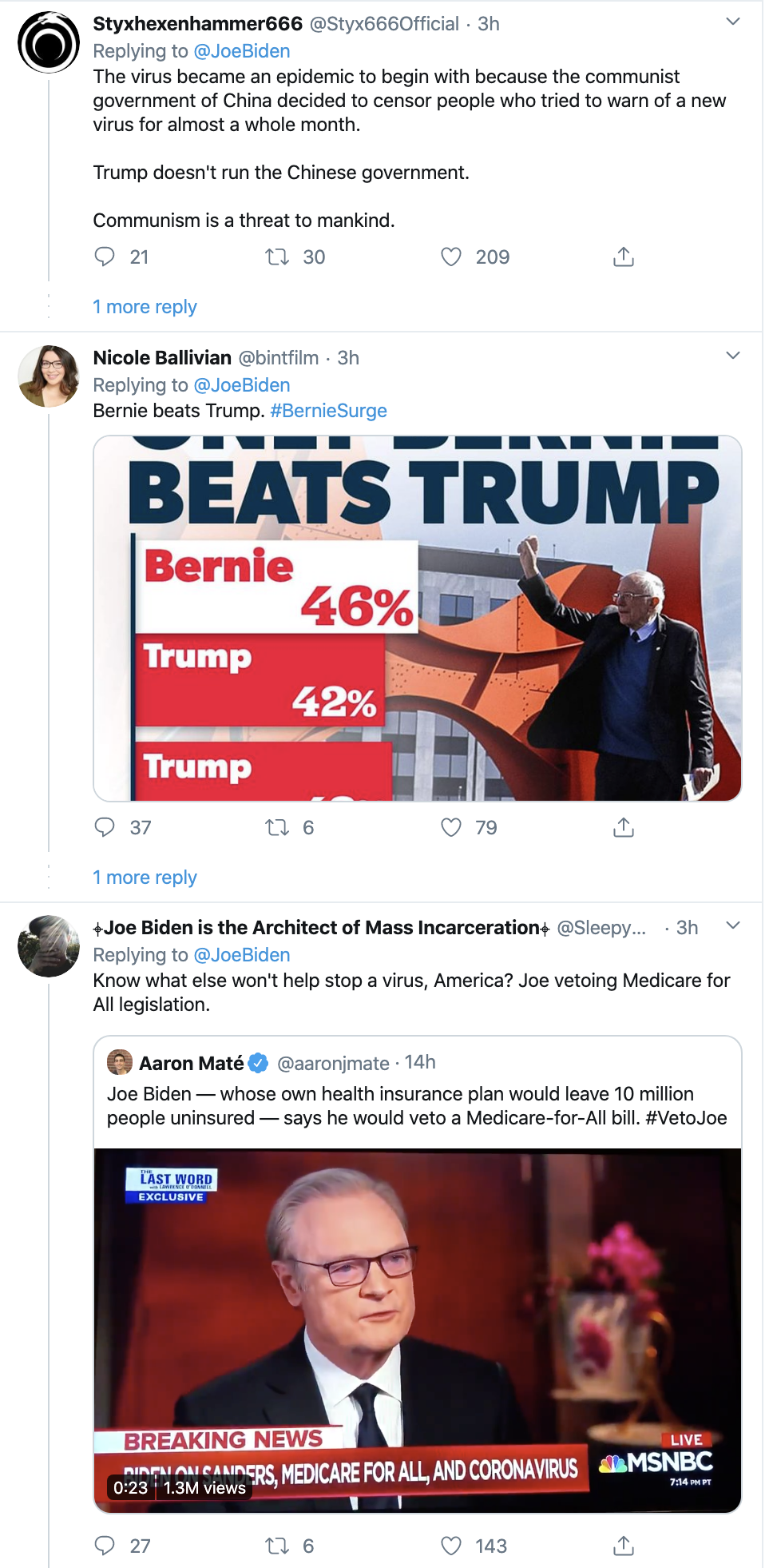 Screen-Shot-2020-03-10-at-12.38.44-PM Biden Trolls Trump Over Coronavirus & Goes Viral Fast Corruption Featured Healthcare Politics Top Stories