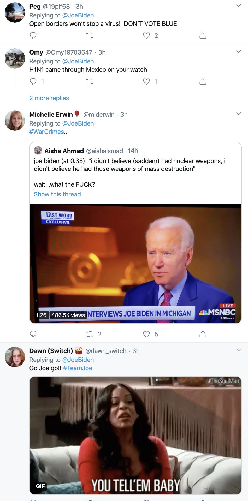 Screen-Shot-2020-03-10-at-12.40.17-PM Biden Trolls Trump Over Coronavirus & Goes Viral Fast Corruption Featured Healthcare Politics Top Stories