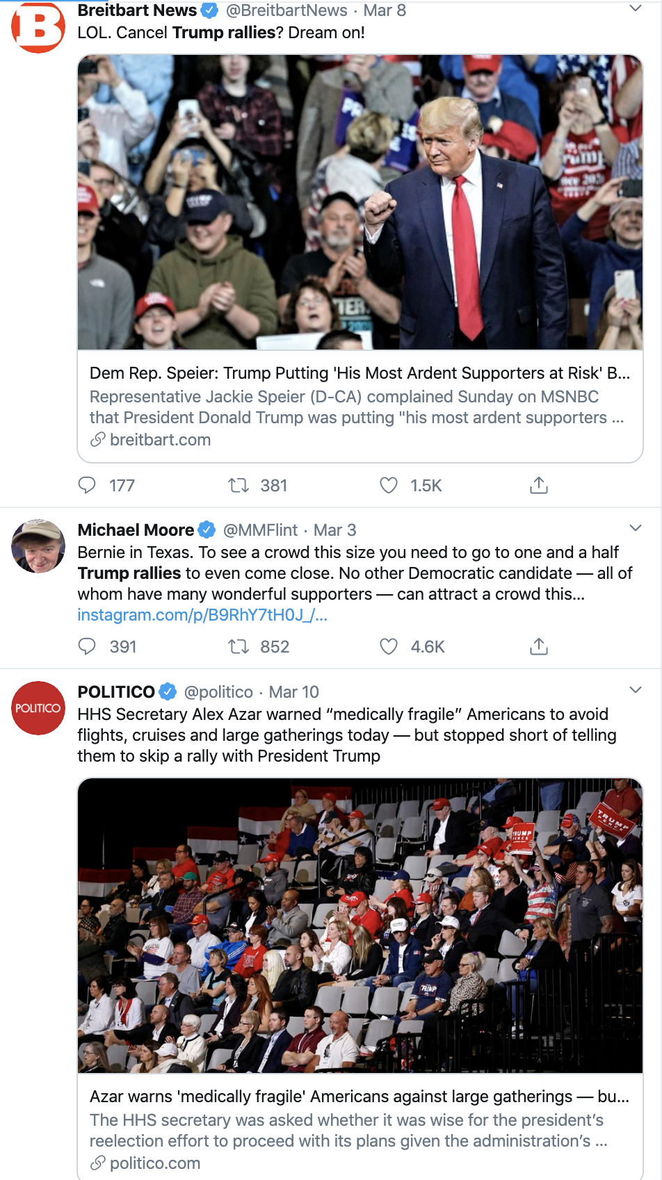 Screen-Shot-2020-03-12-at-2.55.43-PM Trump Refuses To Limit Rallies During COVID-19 Pandemic Corruption Featured Politics Top Stories Uncategorized