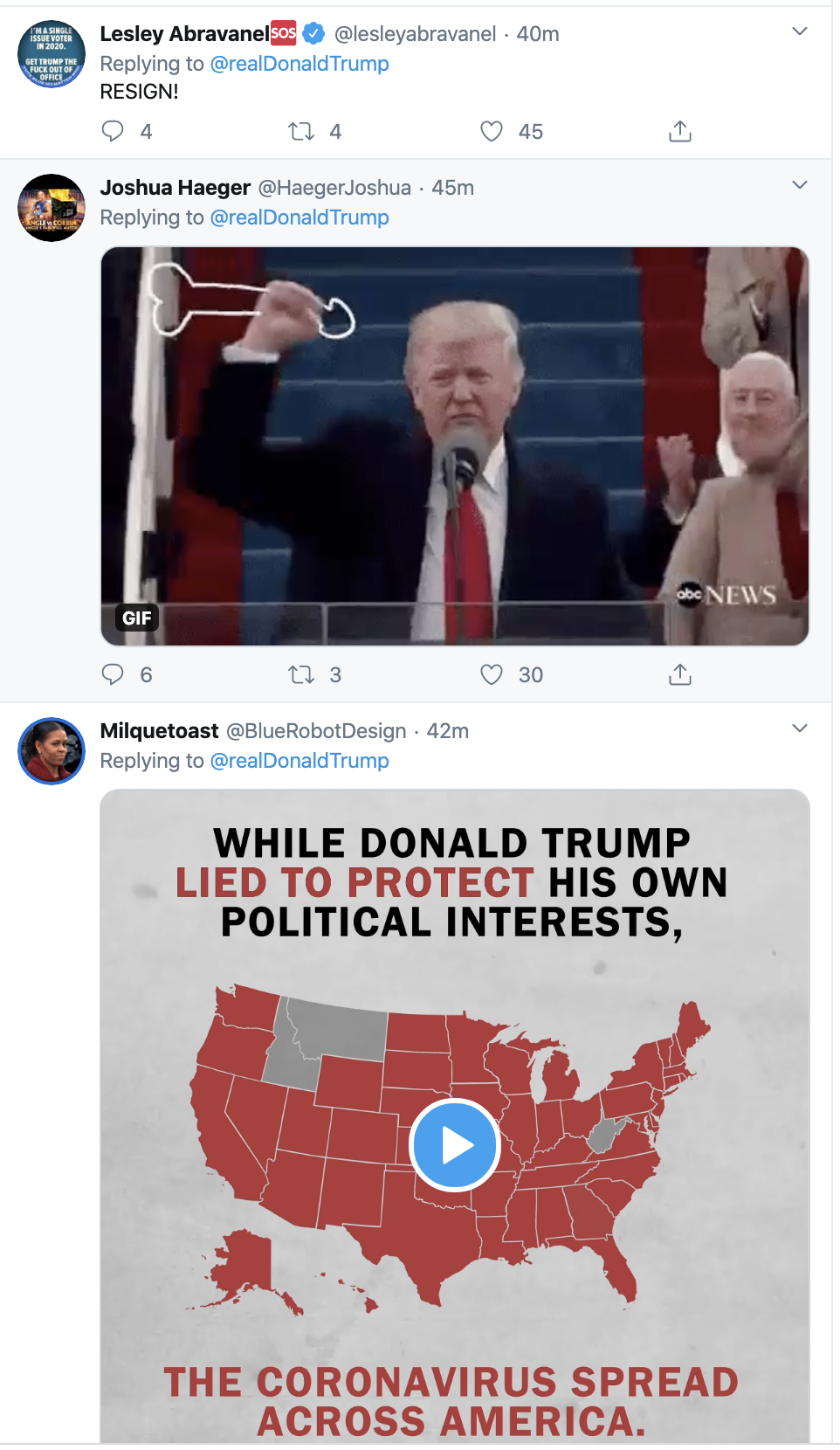 Screen-Shot-2020-03-19-at-10.11.41-AM Trump Tweets COVID-19 Video That Has People Grumbling Election 2020 Featured Healthcare Politics Top Stories