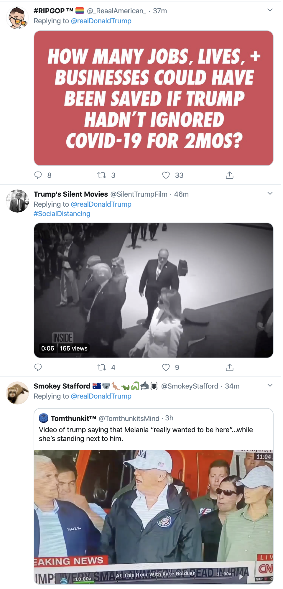Screen-Shot-2020-03-19-at-10.12.47-AM Trump Tweets COVID-19 Video That Has People Grumbling Election 2020 Featured Healthcare Politics Top Stories