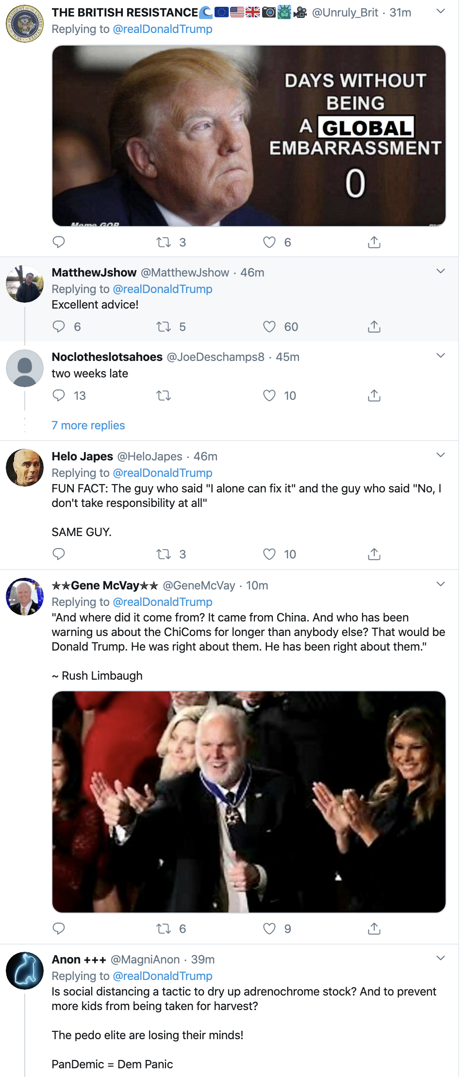 Screen-Shot-2020-03-19-at-10.13.06-AM Trump Tweets COVID-19 Video That Has People Grumbling Election 2020 Featured Healthcare Politics Top Stories