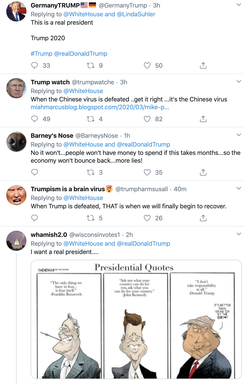 Screen-Shot-2020-03-19-at-3.20.45-PM Trump Releases Tweet About COVID-19 Relief Fund Featured Healthcare Military Politics Top Stories