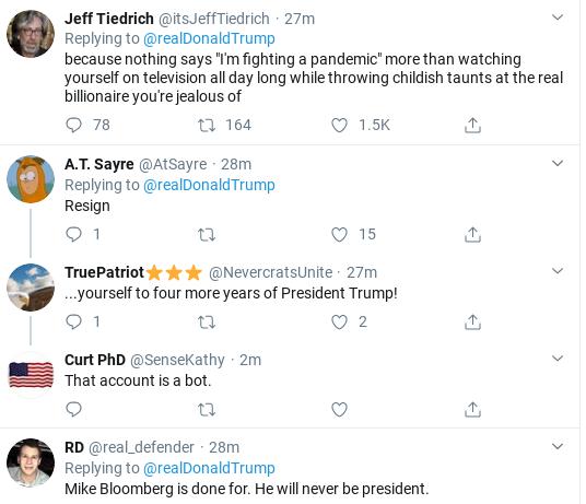 Screenshot-2020-03-02-at-12.31.38-PM Trump Has Embarrassing Twitter Freakout Over Dem Primary Donald Trump Election 2020 Politics Top Stories