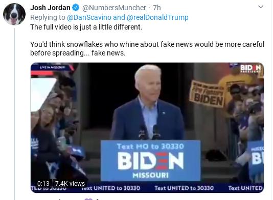 Screenshot-2020-03-08-at-5.35.41-PM Trump Campaign Spreads Deceptively Edited Biden Video Donald Trump Politics Social Media Top Stories