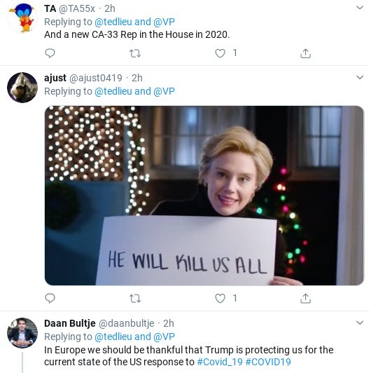 Screenshot-2020-03-12-at-11.40.01-AM Pence Hammered Online After Disastrous TV Interviews Donald Trump Politics Social Media Top Stories
