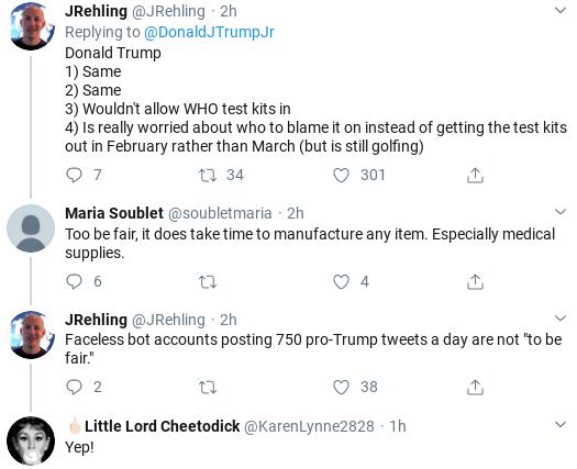 Screenshot-2020-03-13-at-12.34.59-PM Trump Jr. Goes On Rabid Racist Anti-China Virus Rant Donald Trump Politics Social Media Top Stories