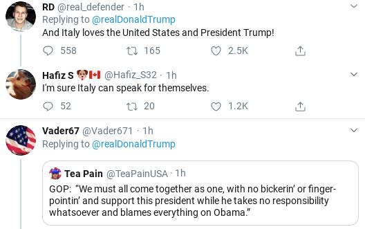 Screenshot-2020-03-14-at-2.42.18-PM Trump Tweets Bizarre Video As Coronavirus Crisis Rages Donald Trump Politics Social Media Top Stories