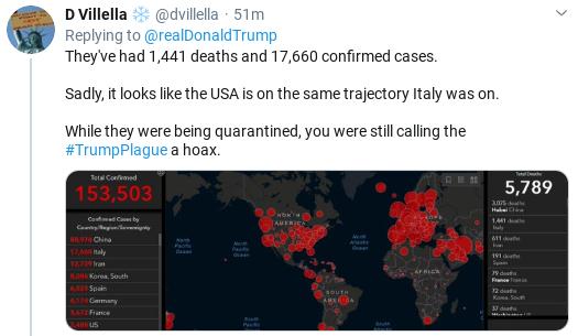 Screenshot-2020-03-14-at-2.43.21-PM Trump Tweets Bizarre Video As Coronavirus Crisis Rages Donald Trump Politics Social Media Top Stories