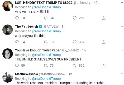 Screenshot-2020-03-14-at-2.43.50-PM Trump Tweets Bizarre Video As Coronavirus Crisis Rages Donald Trump Politics Social Media Top Stories
