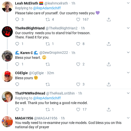 Screenshot-2020-03-15-at-1.10.23-PM Schiff Makes Staffer Coronavirus Announcement During Sunday Tweet Donald Trump Healthcare Politics Social Media Top Stories