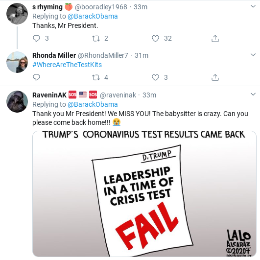 Screenshot-2020-03-15-at-3.44.44-PM Obama Tweets Weekend COVID-19 Message Like A True Leader Donald Trump Politics Social Media Top Stories