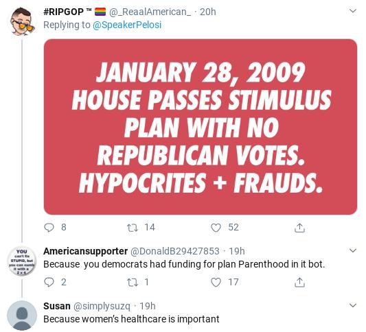 Screenshot-2020-03-18-at-10.19.14-AM Pelosi Trolls Cowardly GOP Senators Over Failed COVID-19 Response Donald Trump Healthcare Politics Social Media Top Stories