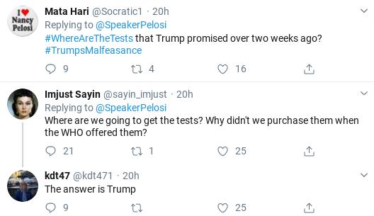 Screenshot-2020-03-18-at-10.19.48-AM Pelosi Trolls Cowardly GOP Senators Over Failed COVID-19 Response Donald Trump Healthcare Politics Social Media Top Stories