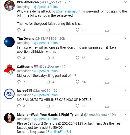 Screenshot-2020-03-18-at-10.21.09-AM Pelosi Trolls Cowardly GOP Senators Over Failed COVID-19 Response Donald Trump Healthcare Politics Social Media Top Stories